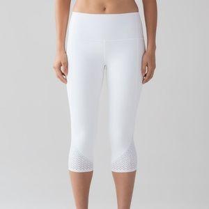 "Lululemon  "" Anew Crop"" workout pants"